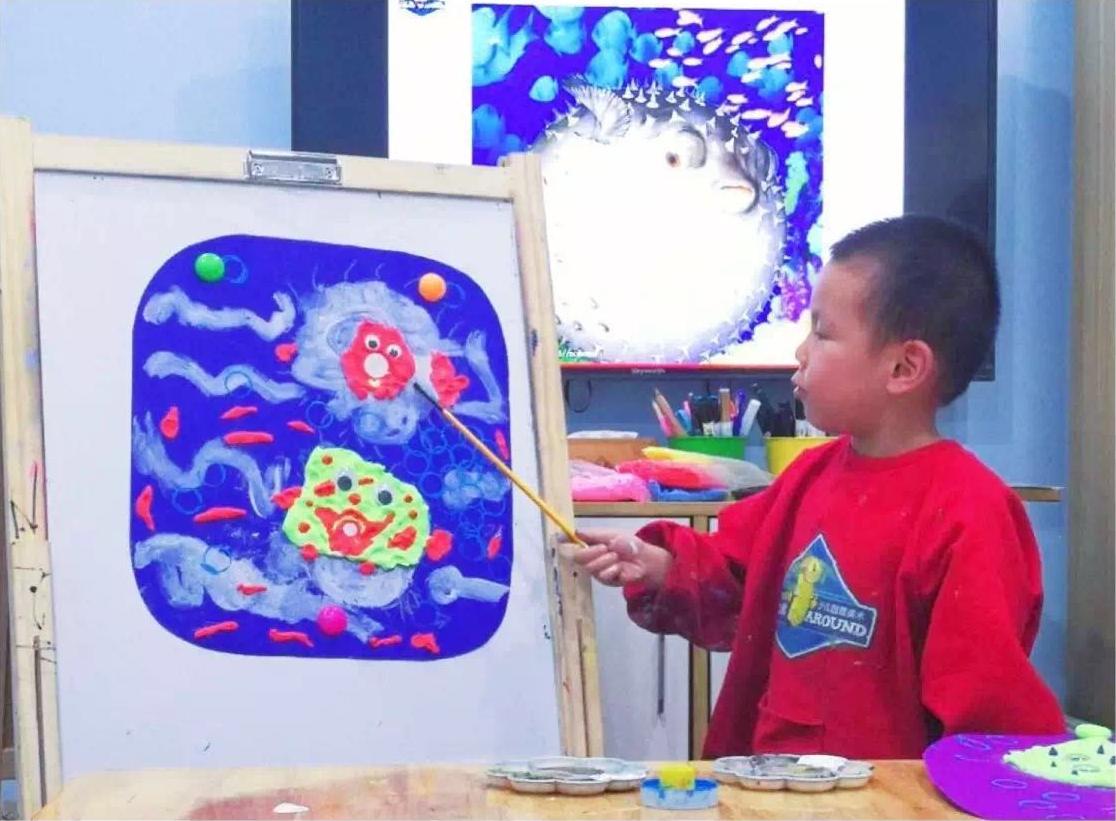 怎样引导贝博网址把自己的画画得更丰富?